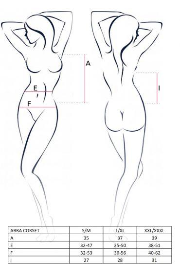 Guide des tailles guêpière